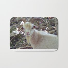 A Handsome Billy Goat Bath Mat
