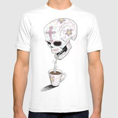 Mas Azucar SMALL White Mens Fitted Tee