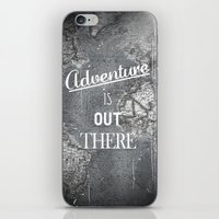 adventure iPhone & iPod Skins featuring Adventure by Zach Terrell