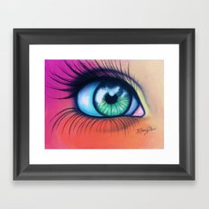 Kaleidoscopic Vision Framed Art Print