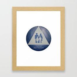Family Room Framed Art Print