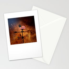 POTUS Trump and the Wind Of Times. Stationery Cards