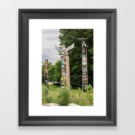 totems. Framed Art Print