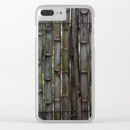 Dreamy Bamboo Clear iPhone Case