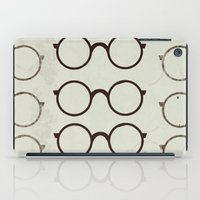 glasses iPad Cases featuring (Glasses) by Mr and Mrs Quirynen