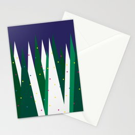 Christmas forest Stationery Cards