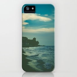 Good Bye Blue Sky iPhone Case