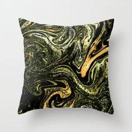 No. 10, Marble Throw Pillow