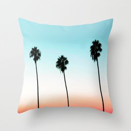 Sunset Boulevard #society6 #decor #buyart Throw Pillow