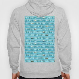 Sailing pattern 1c Hoody