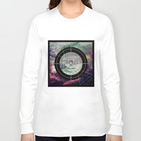 compass Long Sleeve T-shirts featuring Compass by Luisa Burgoyne
