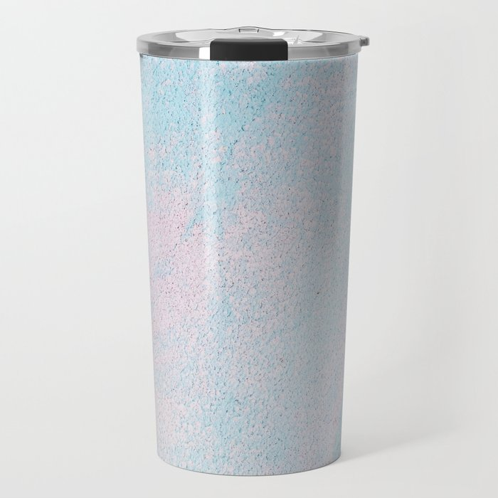 Cotton Candy Painting Travel Mug