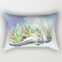 weed trex Rectangular Pillow
