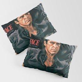Classic Scarface Tony Montana Poster Pillow Sham