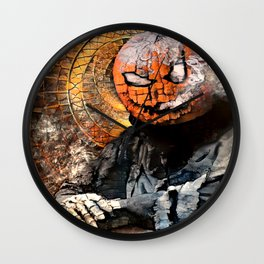 The Jack of the Shadows (Fractal Painting) Wall Clock