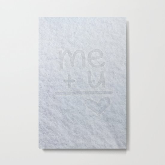 Me and You Metal Print