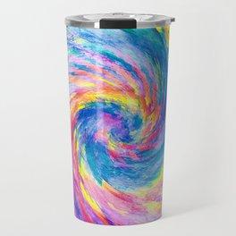 digital tie dye 15 Travel Mug