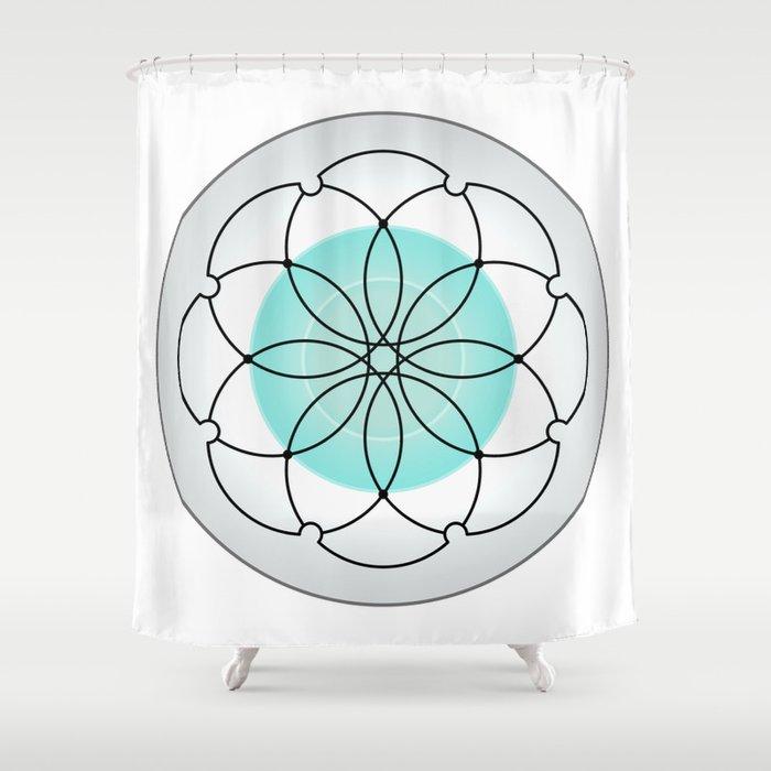 Sacred Geometry 2 Shower Curtain