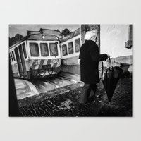 train Canvas Prints featuring train by Joao Bizarro
