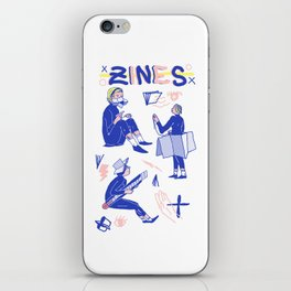 Zine Gurls iPhone Skin