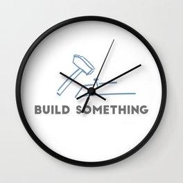 Build Something Wall Clock