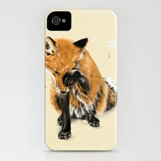 Fox and Dandelion iPhone (4, 4s) Slim Case