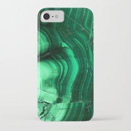 Malachite Texture iPhone Case