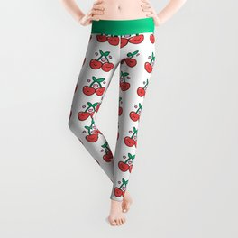 Cherry Pattern Leggings