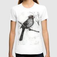 cardinal T-shirts featuring Cardinal by Rebecca Joy - Joy Art and Design