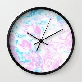 Marbling Wall Clock