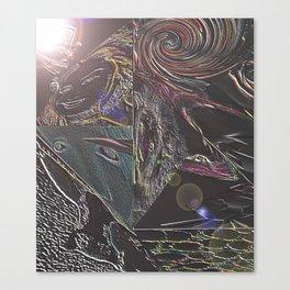 Night Around Canvas Print