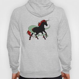 Magical Unicorn (Black and Red) Hoody