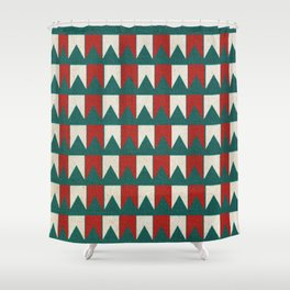 """Bandeirando"" com Volpi Shower Curtain"