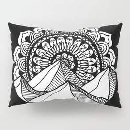 Mountain Mandala Pillow Sham