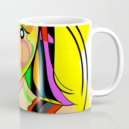Hypnotic girl Coffee Mug
