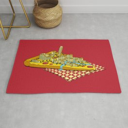 Hungry for Travels: Slice of Italy Rug