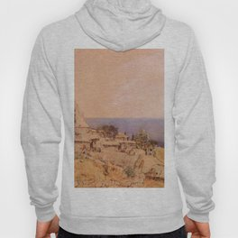 Yursuff 1863 by Rudolf von Alt | Reproduction Hoody