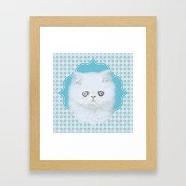 Lord Aries Cat - Art 001 Framed Art Print