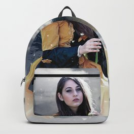Gothic Princess & Wolf Backpack