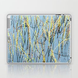 Horsetail and blue water Laptop & iPad Skin