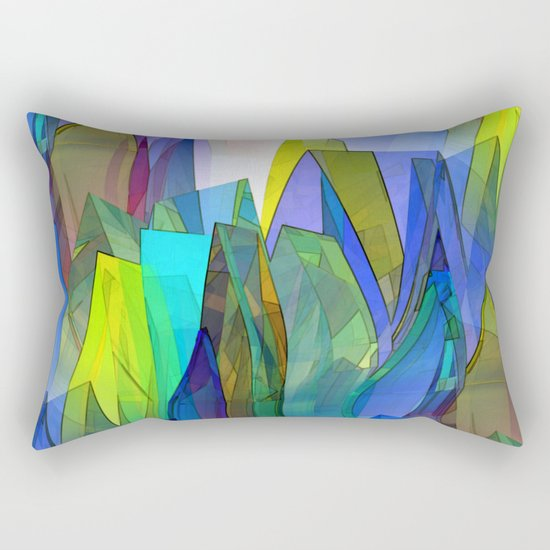 towel full of colors -8- Rectangular Pillow