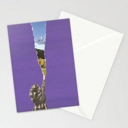 Landscape glimpse Stationery Cards