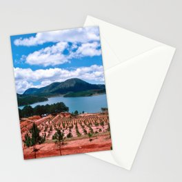 Magic Lake of Central Highland in Vietnam Stationery Cards