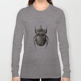Ox Beetle/Strategus antaeus Long Sleeve T-shirt