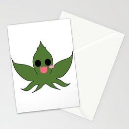 Cute Cannabis Masot : Indica 大麻 (Taima) Stationery Cards