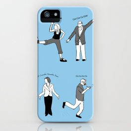 Chicken Dance The Night Alway  iPhone Case