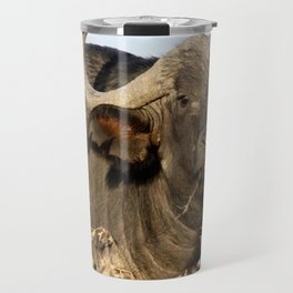 Portrait of a buffalo Travel Mug