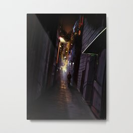 Kipple City Metal Print