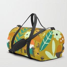 Autumn gnome garden Duffle Bag