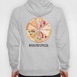 Feast of St. Pizza: Lebanon Edition Hoody